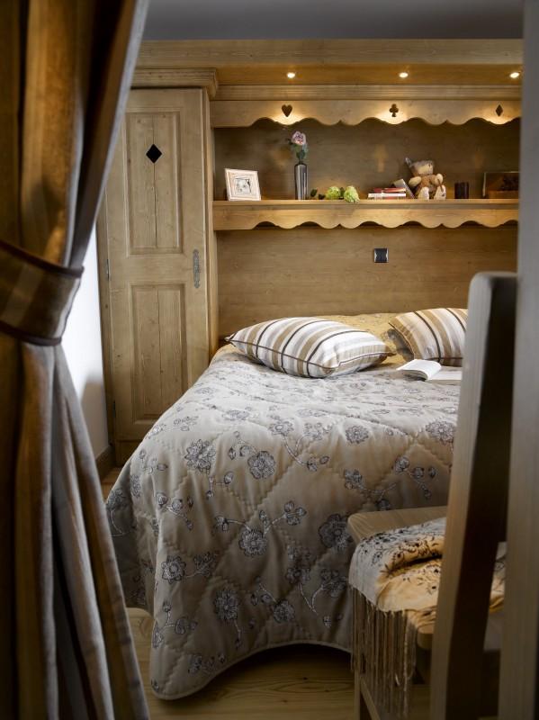 Le Bourg Saint MauriceLocation Appartement Luxe Bloberite Chambre