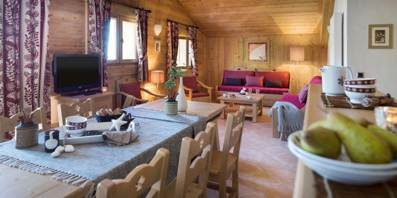 Le Grand Bornand Location Appartement Luxe Lennilite Salon 1