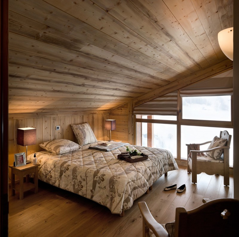 Le Grand Bornand Location Appartement Luxe Lepidolite Chambre