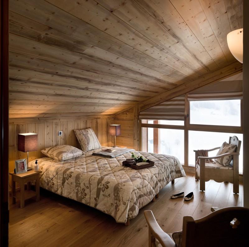 Le Grand Bornand Location Appartement Luxe Leucite Duplex Chambre
