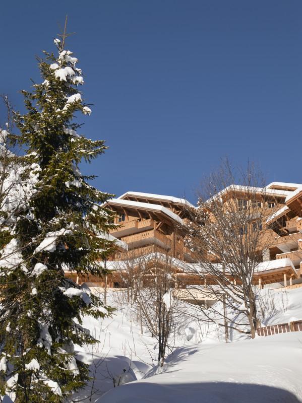 Le Grand Bornand Location Appartement Luxe Leucite Extérieur