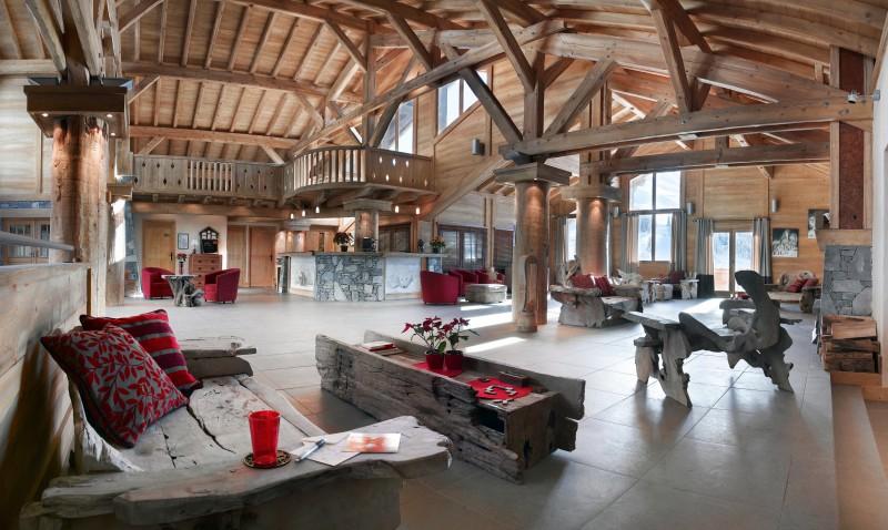 Le Grand Bornand Location Appartement Luxe Leukorite Réception