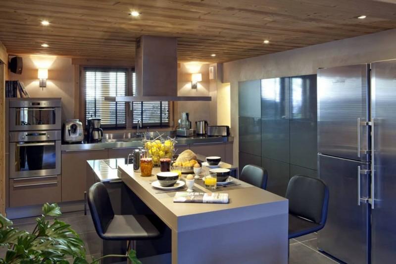 Le Grand Bornand Location Chalet Luxe Leonite Cuisine2