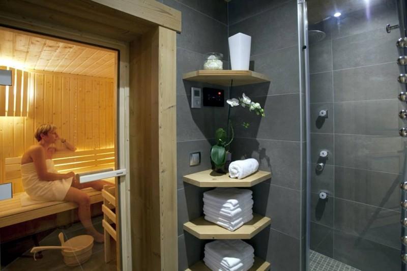 Le Grand Bornand Location Chalet Luxe Leonite Sauna