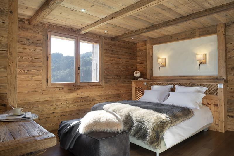 Le Grand Bornand Location Chalet Luxe Leonute Chambre4