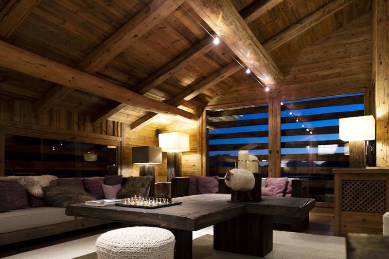 Le Grand Bornand Location Chalet Luxe Leonute Salon