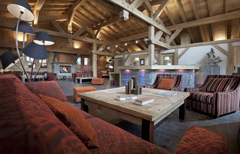 Les Carroz D'Araches Location Appartement Luxe Licibe Réception