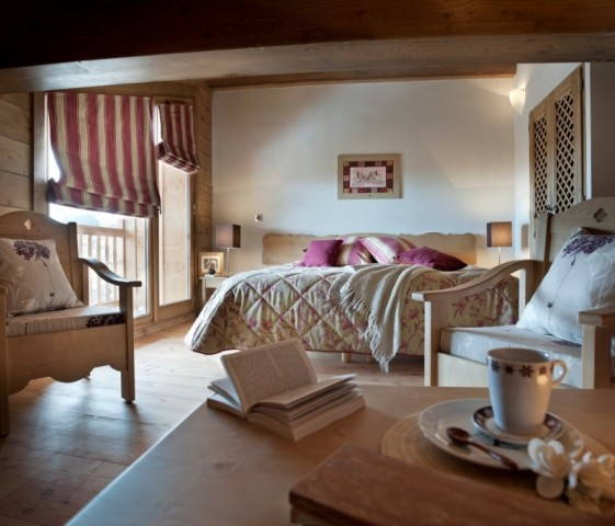 Les Carroz D'Araches Location Appartement Luxe Lilalite Duplex Chambre