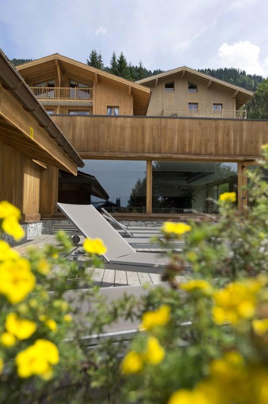 Les Carroz D'Araches Location Appartement Luxe Lilalite Extérieur 2