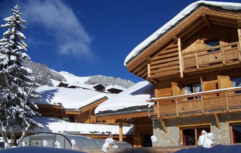 Les Deux Alpes Location Chalet Luxe Cervantate Extérieur 3