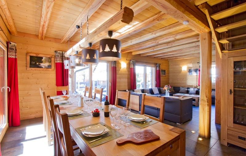 Les Deux Alpes Location Chalet Luxe Cervantate Salle A Manger