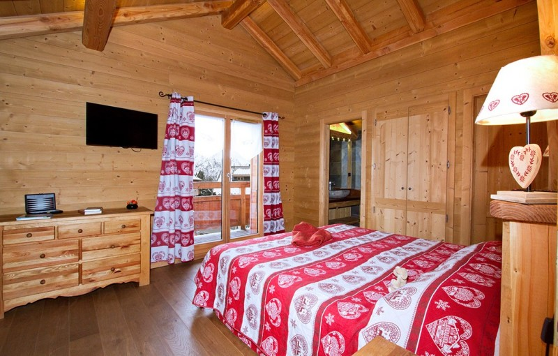 Les Deux Alpes Rental Chalet Luxury Cervantite Bedroom