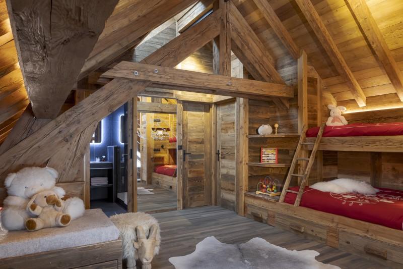 Les Deux Alpes Luxury Rental Chalet Cervantute Kids Bedroom