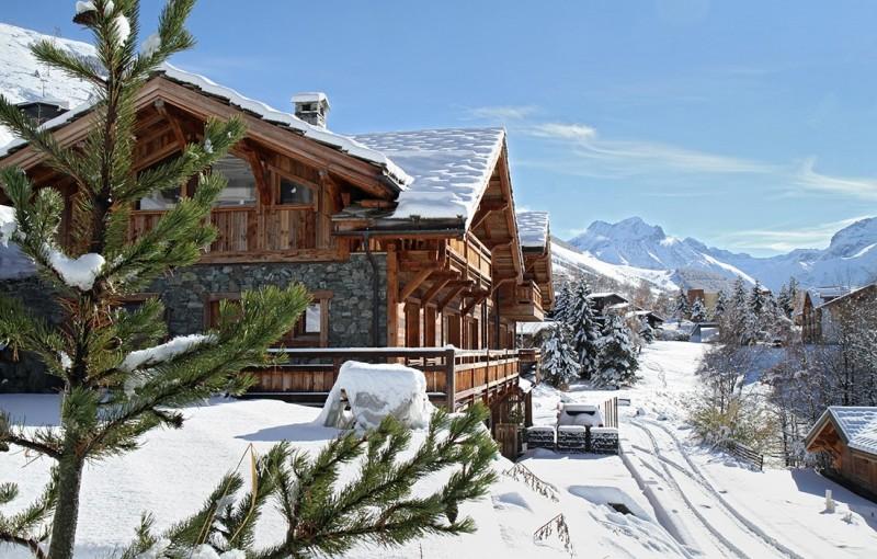 Les Deux Alpes Location Chalet Luxe Wallomia Exterieur