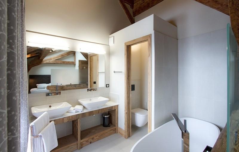 Les Deux Alpes Location Chalet Luxe Wallomia Salle de Bains