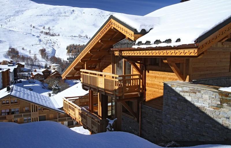Les Deux Alpes Luxury Rental Chalet Wardite Exterior 2