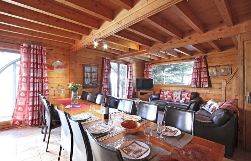 Les Deux Alpes Location Chalet Luxe Water Opal Salle à Manger