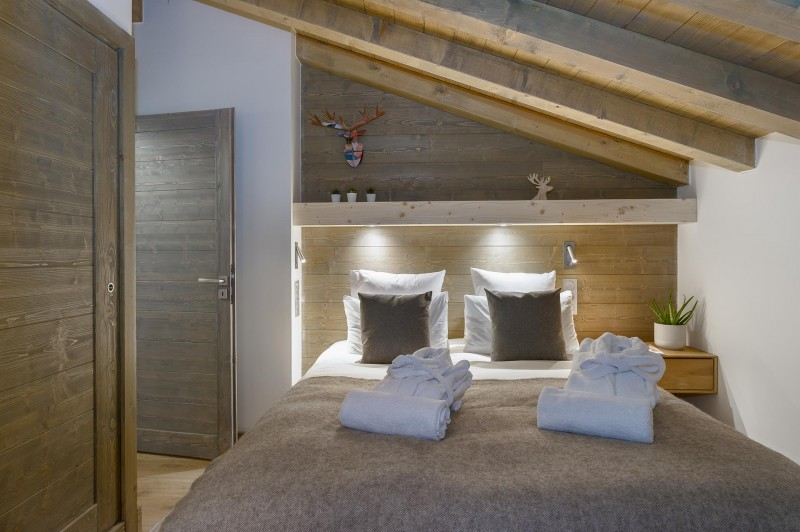 Les Gets Location Appartement Luxe Ancolie Chambre 2