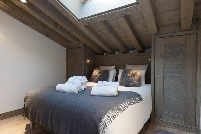 Les Gets Location Appartement Luxe Ancolie Chambre 3