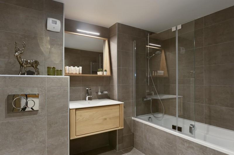 Les Gets Location Appartement Luxe Ancolie Salle De Bain 4