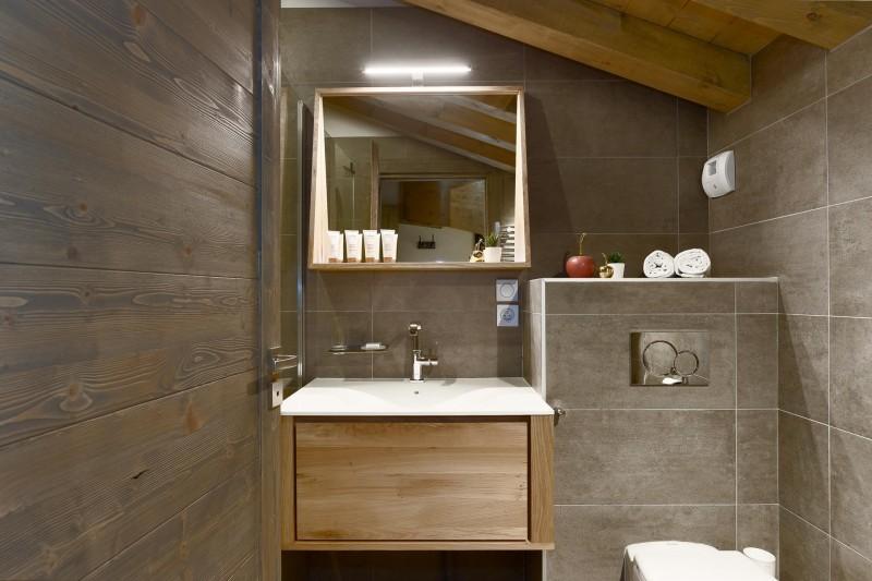 Les Gets Location Appartement Luxe Ancolie Salle De Bain 5