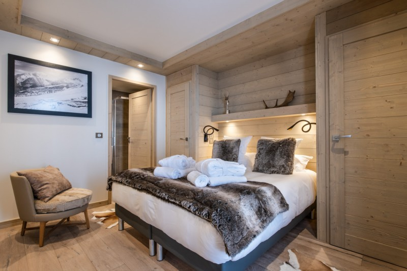 Les Gets Luxury Rental Appartment Andeme Bedroom 3