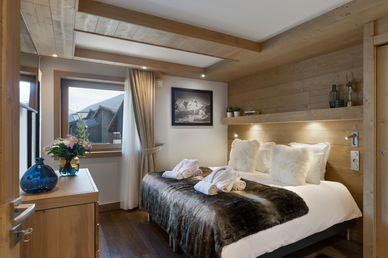 Les Gets Location Appartement Luxe Andime Chambre