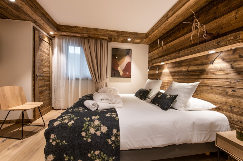Les Gets Location Appartement Luxe Andome Chambre