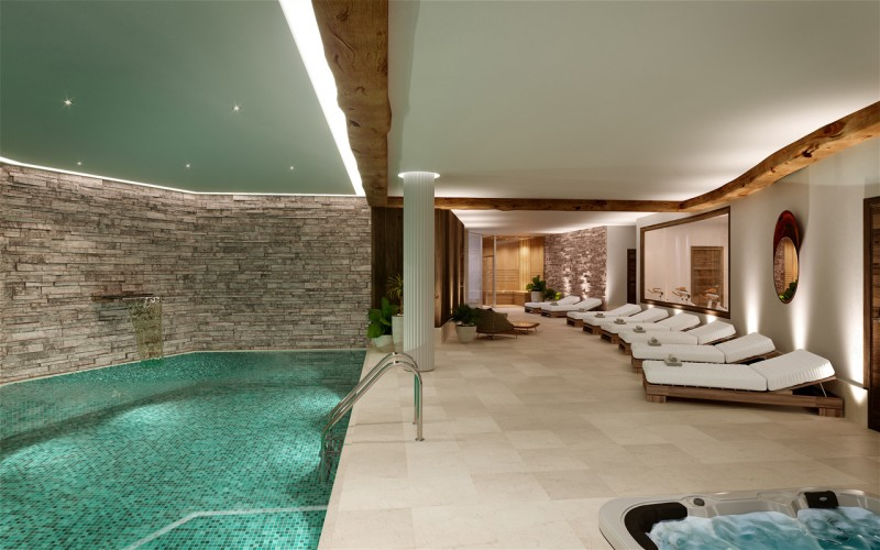 Les Gets Location Appartement Luxe Andome Piscine 2