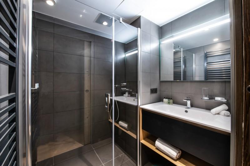 Les Gets Location Appartement Luxe Andome Salle De Bain 2
