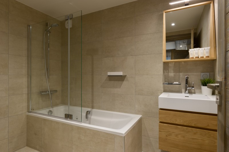 Les Gets Location Appartement Luxe Anroche Salle De Bain