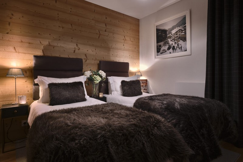 Les Gets Location Appartement Luxe Dariana Chambre 2