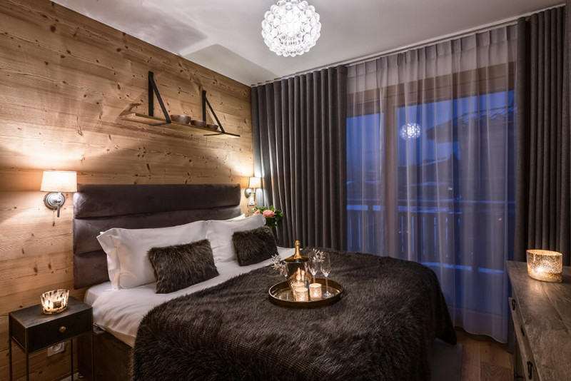 Les Gets Location Appartement Luxe Dariana Chambre