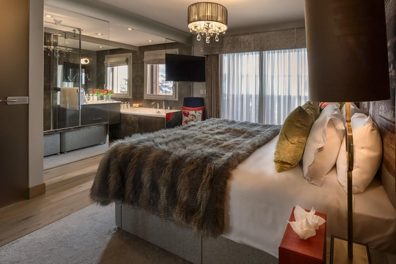 Les Gets Luxury Rental Appartment Europa Bedroom 1