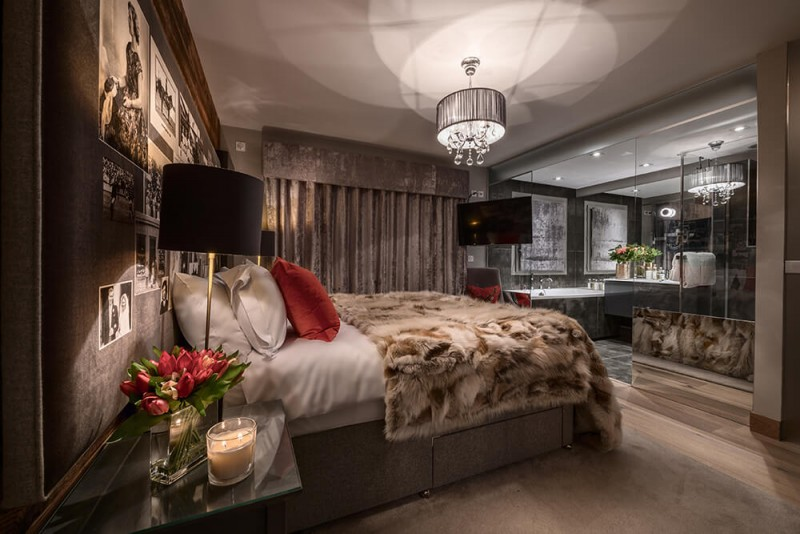 Les Gets Luxury Rental Appartment Europa Bedroom 3