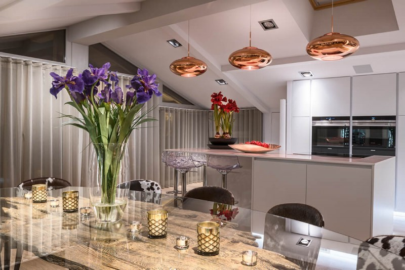 Les Gets Luxury Rental Appartment Europa Kitchen
