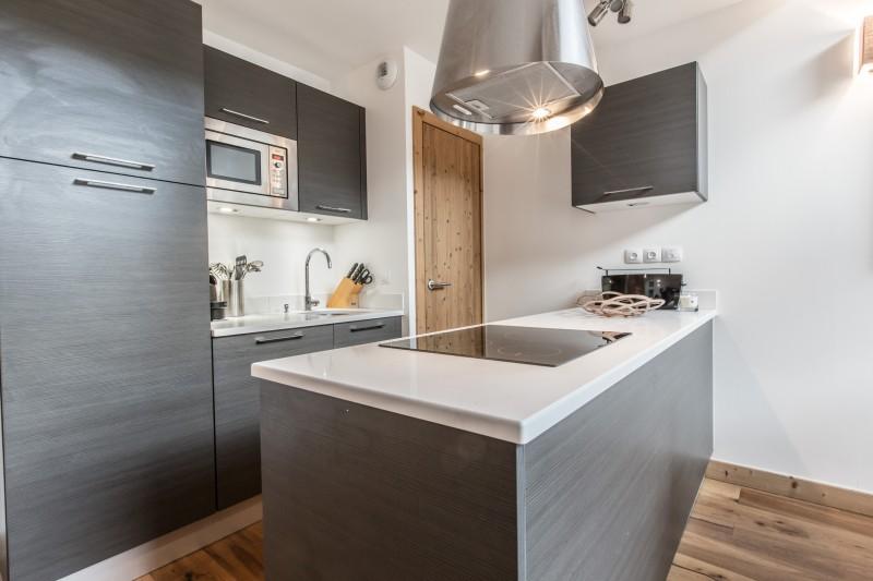 Les Gets Luxury Rental Chalet Anrulle Kitchen