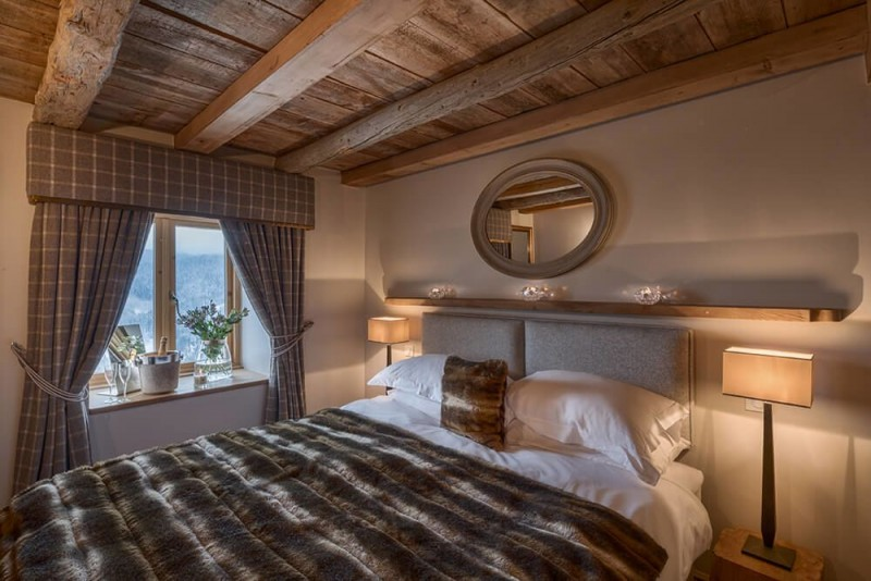 Les Gets Location Chalet Luxe Gedrite Chambre4