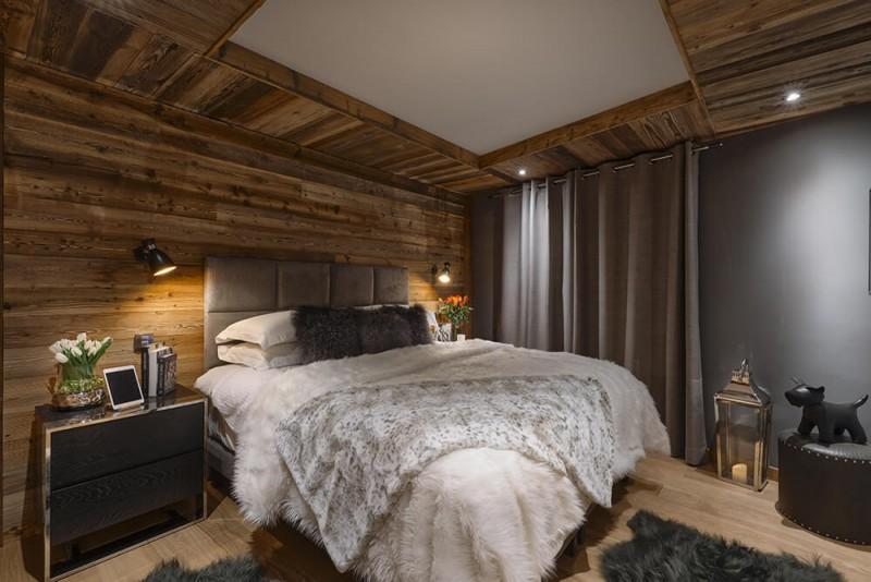 Les Gets Luxury Rental Chalet Gedrute Bedroom 5