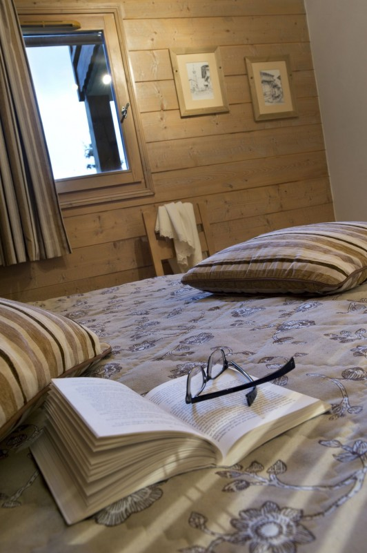 Les Houches Location Appartement Luxe Jacinthe Chambre