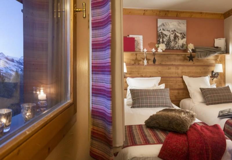 Les Menuires Luxury Rental Appartment Amine Bedroom