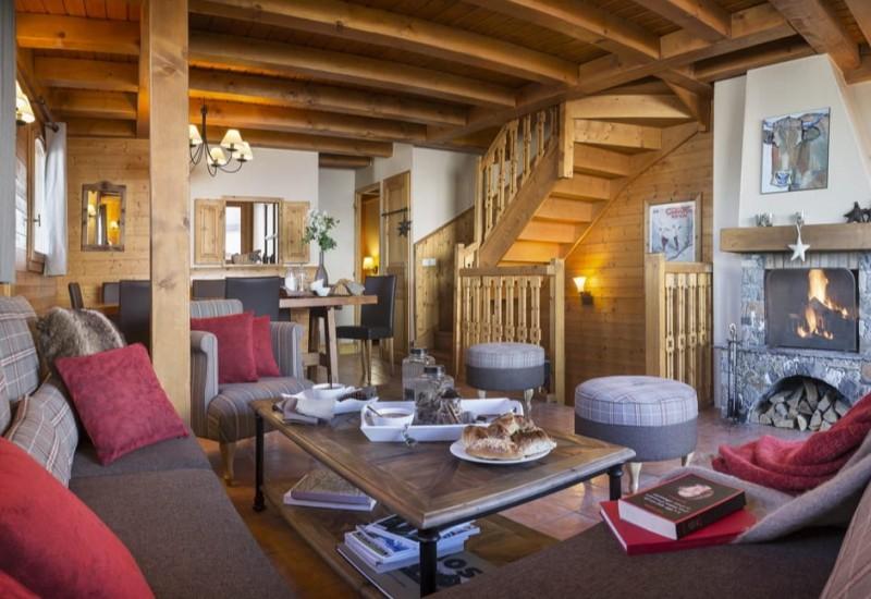Les Menuires Luxury Rental Appartment Amini Living Room 3