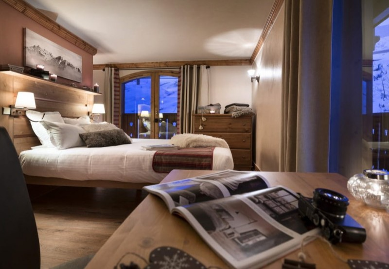 Les Menuires Location Appartement Luxe Amuna Chambre
