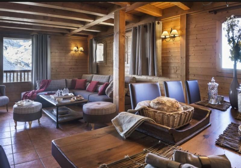 Les Menuires Location Appartement Luxe Amuna Séjour 2