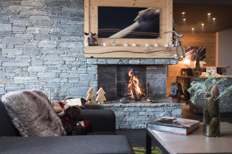 Les Menuires Location Appartement Luxe Calcine Réception