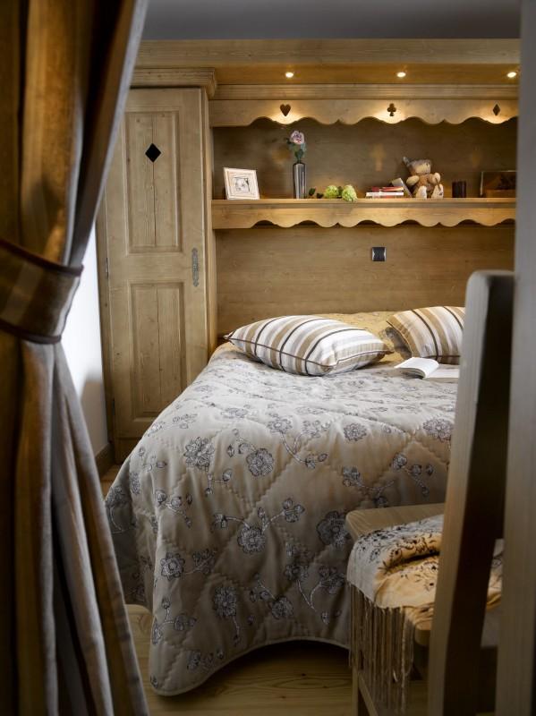 Les Menuires Location Appartement Dans Résidence Luxe Labradorite Chambre
