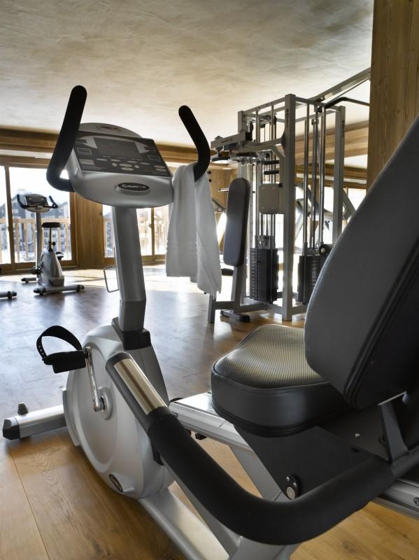 Les Menuires Location Appartement Dans Résidence Luxe Labradorite Salle De Fitness