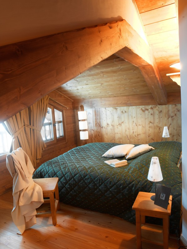 Les Saisies Location Appartement Luxe Lebercice Chambre