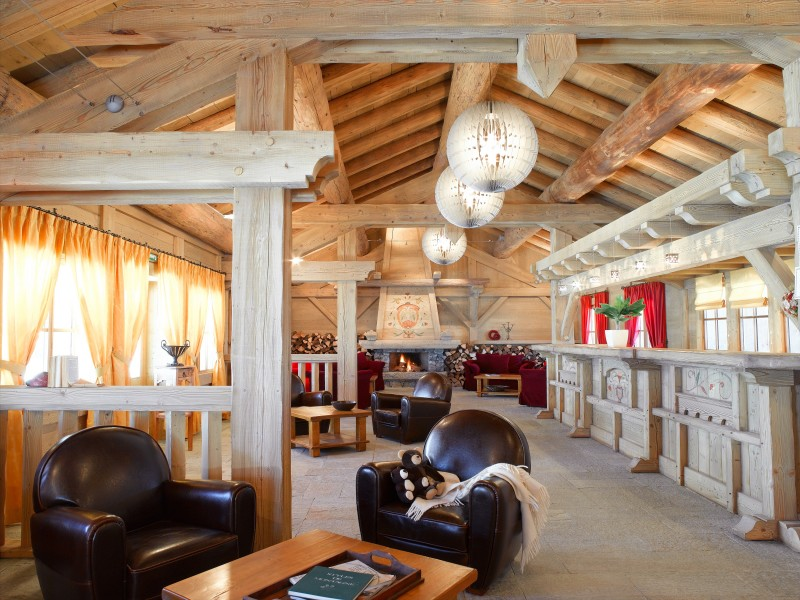 Les Saisies Location Appartement Luxe Lebert Réception