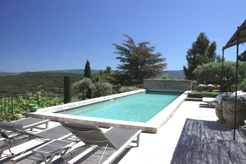 Luberon Location Villa Luxe Leucin Piscine 2